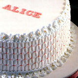 Patchwork Cutters SMOCKING EMBOSSER Cake Side Detail