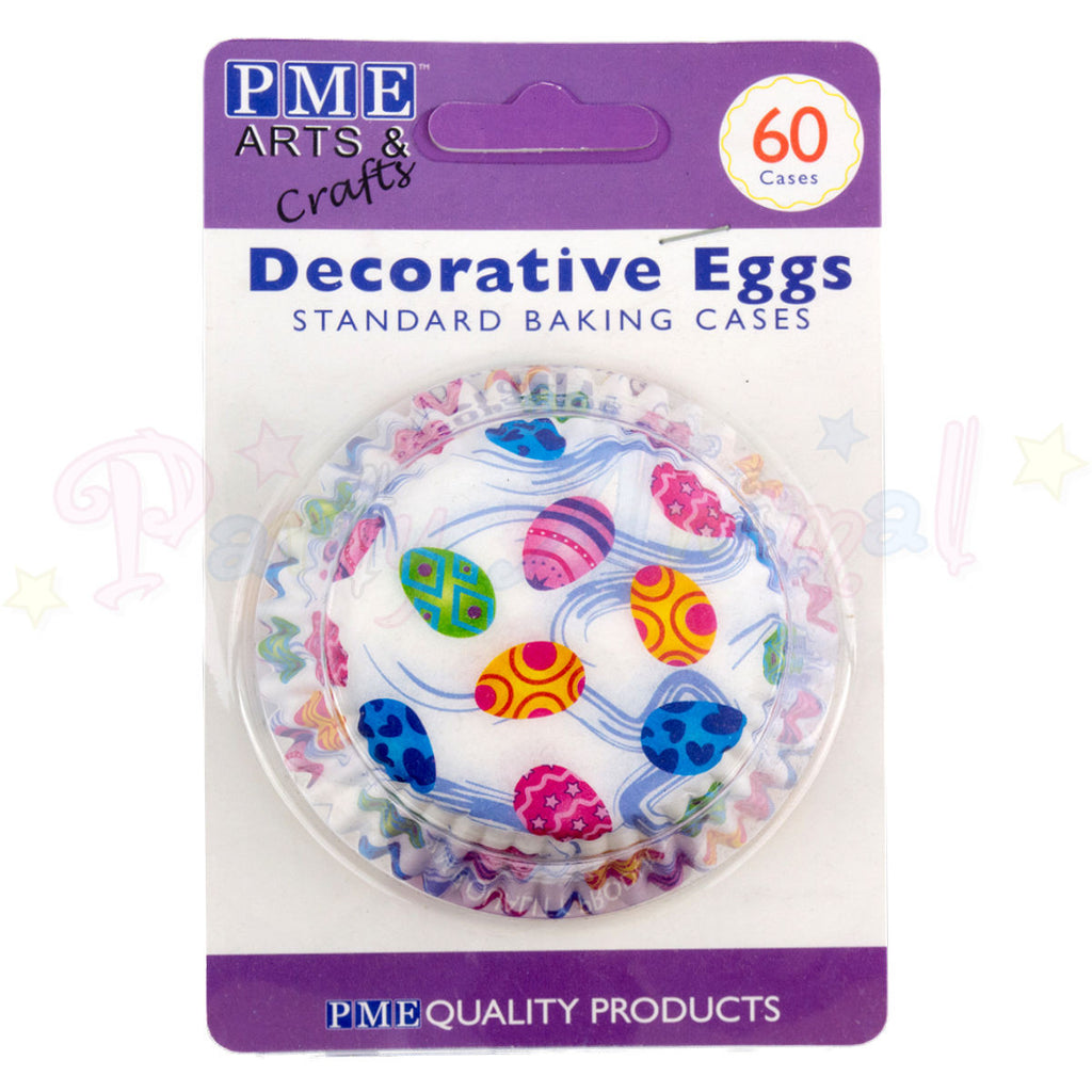PME Bun / Cupcake Cases DECORATIVE EGGS - Pack of 60