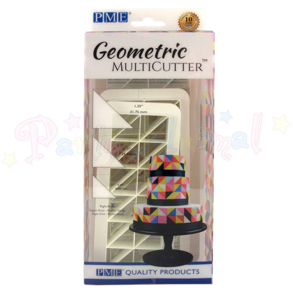 PME Geometric Multicutter Right Angle Triangle Set of 3