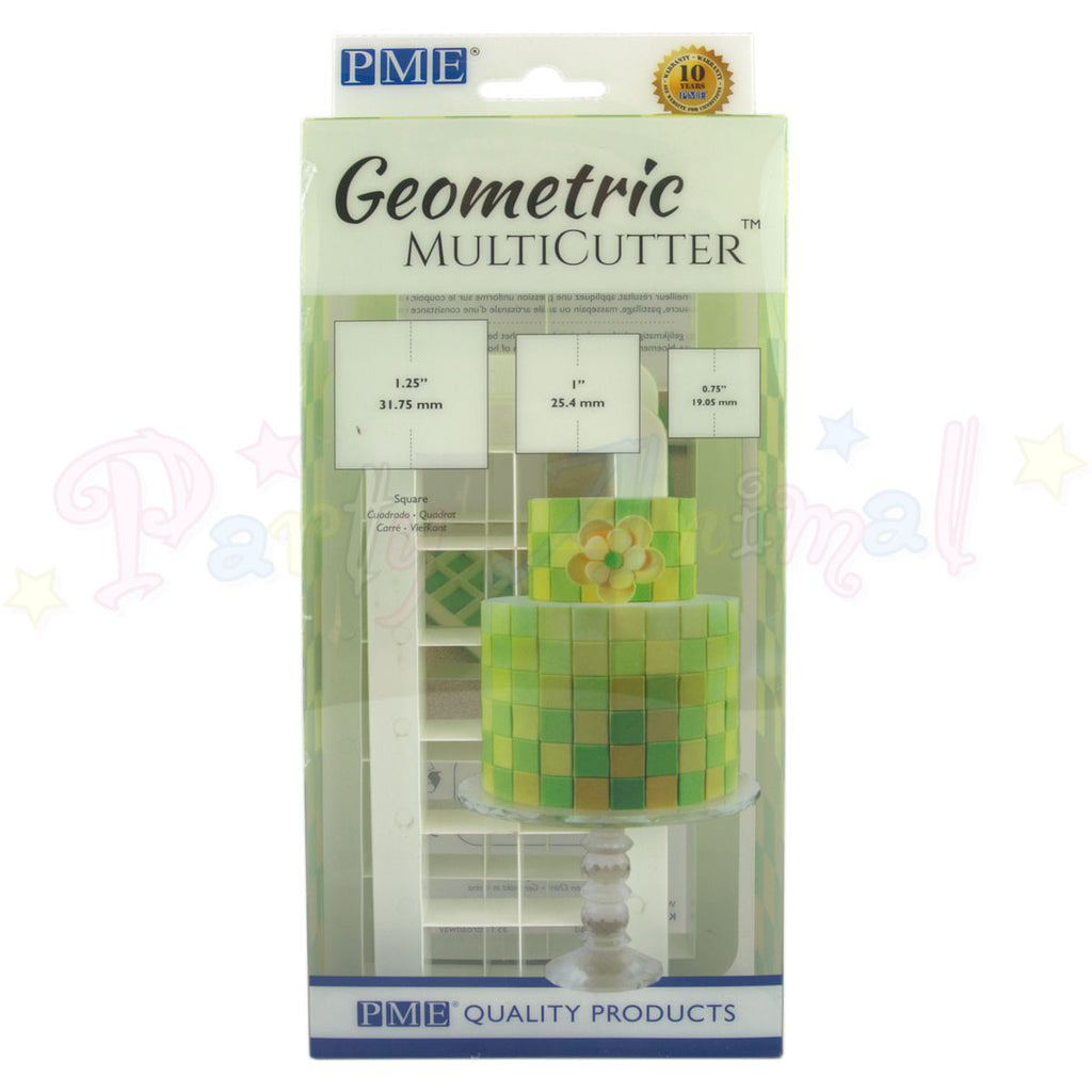 PME Geometric Multicutter Square Set of 3