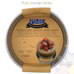 "10"" Round PME Loose Bottom Cake Pan"