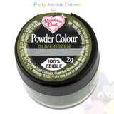 Rainbow Dust Powder Colour Range - OLIVE GREEN