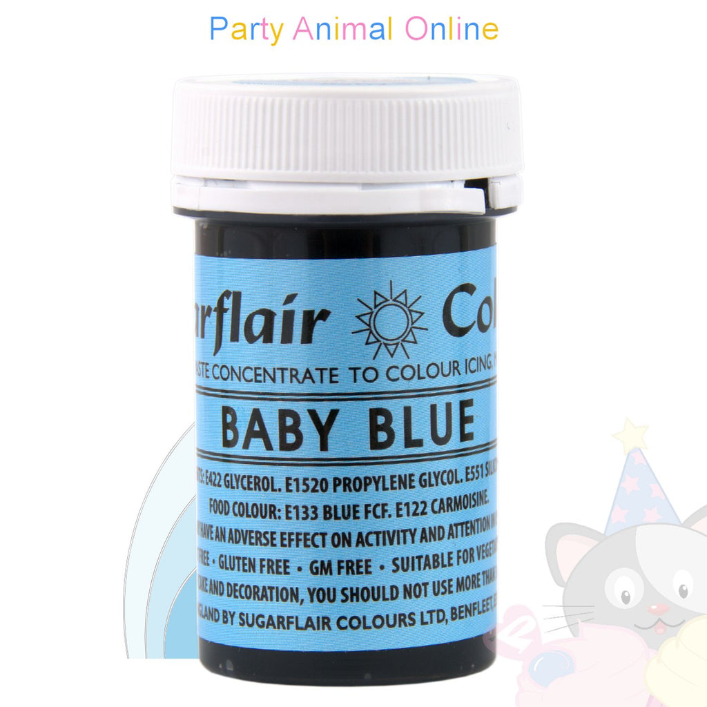 Sugarflair Spectral Paste BABY BLUE Food Colour