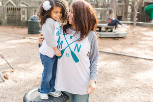 Page Toddler Raglan
