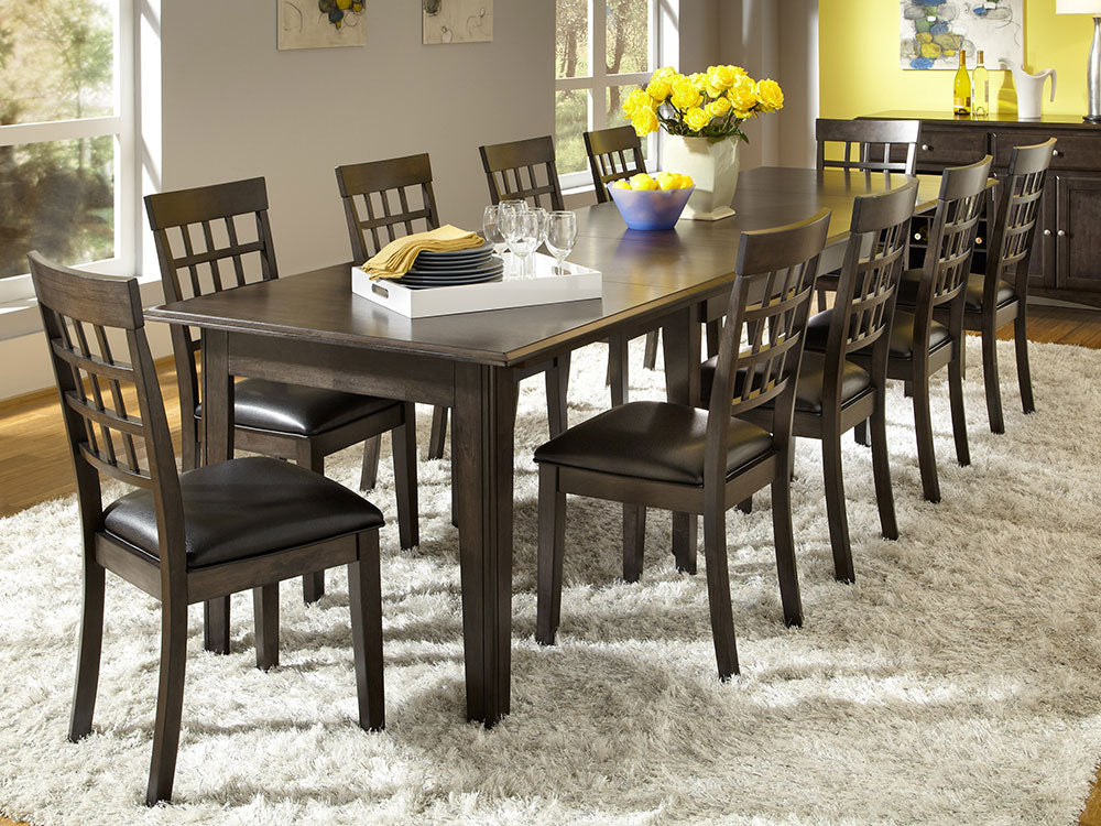 Bristol Point Warm Grey Large Dining Table