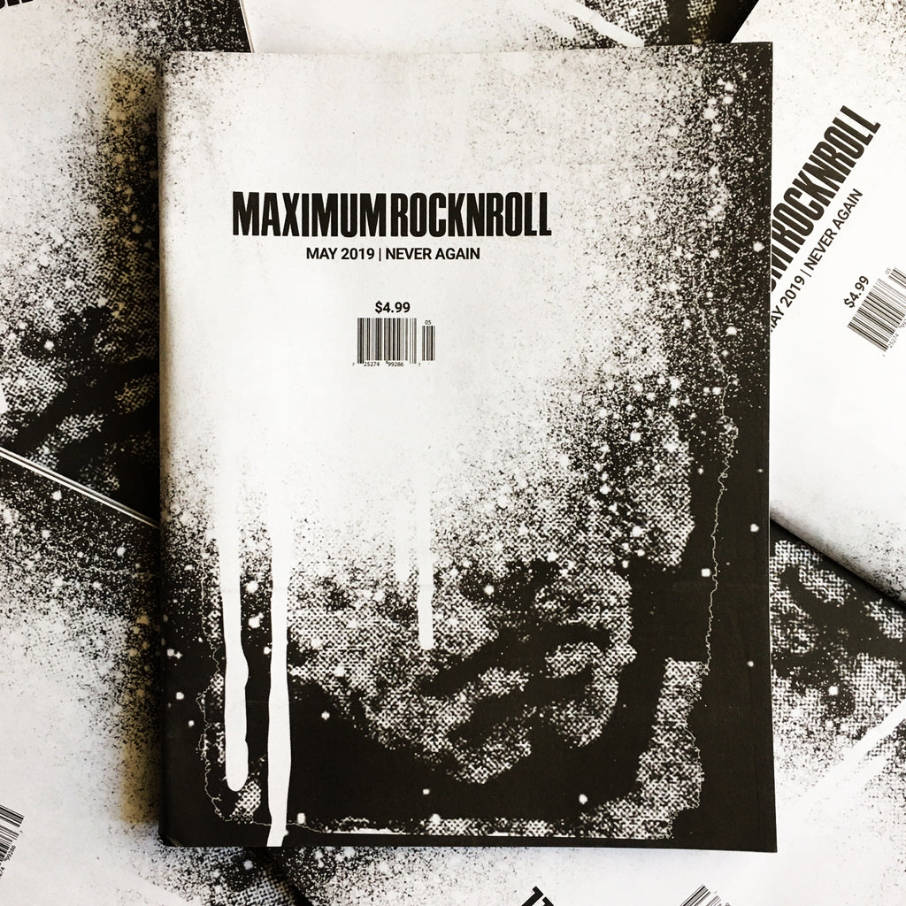 MAXIMUM ROCKNROLL #432 (Final Issue)