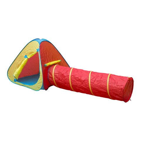 Traditional Garden Games Pop Up Pyramid Adventure Play Tent