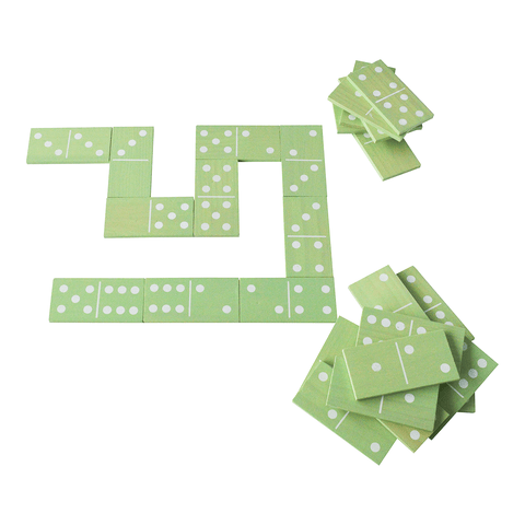 Traditional Garden Games NEW Wooden Dominoes