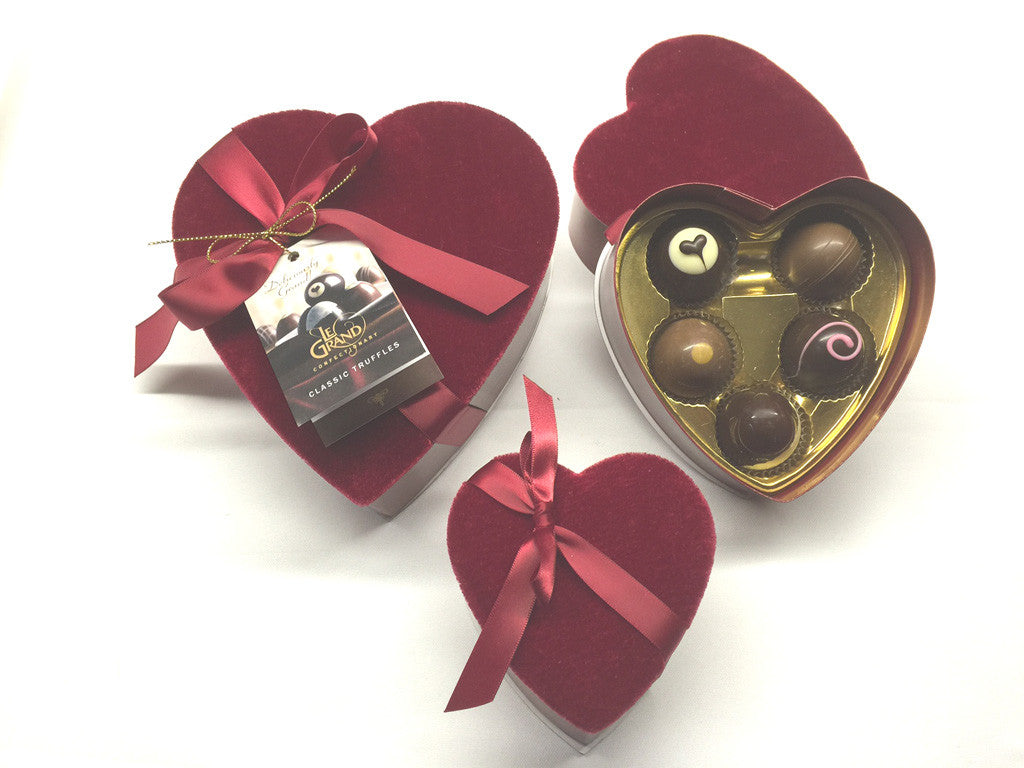 Classic Hearts for Your Love! (8 Petite Truffles)