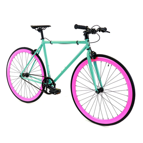 Golden Cycles - BETTY Pink/Mint Cruiser Republic