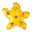 Enamel Dawg Tag Shoe Charm - Starfish