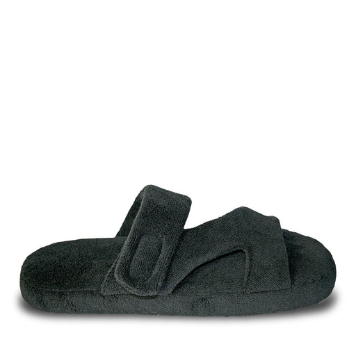 Women's Fluffy Z Slippers - Black