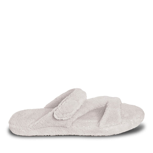 Women's Fluffy Z Slippers - White