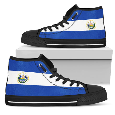 El Salvador Flag High Top Shoes