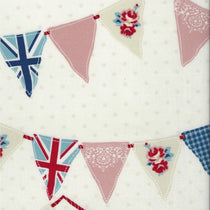 Bunting Blue PVC Tablecloth PVC Tablecloths