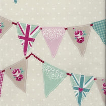 Bunting Pink PVC Tablecloth PVC Tablecloths
