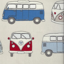 Campervan Blue PVC Tablecloth PVC Tablecloths