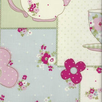 Teatime Pink PVC Tablecloth PVC Tablecloths
