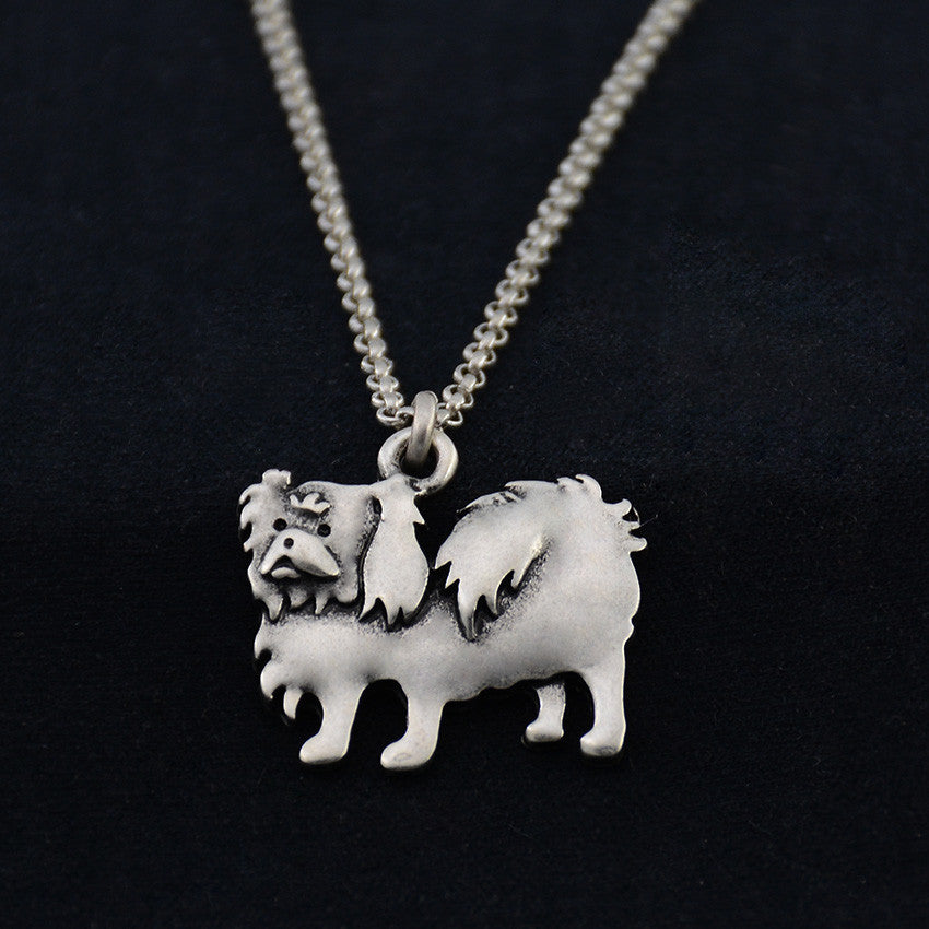 Japanese Chin Vintage Necklace