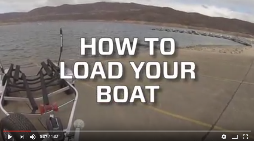 HOW TO LOAD A BOAT