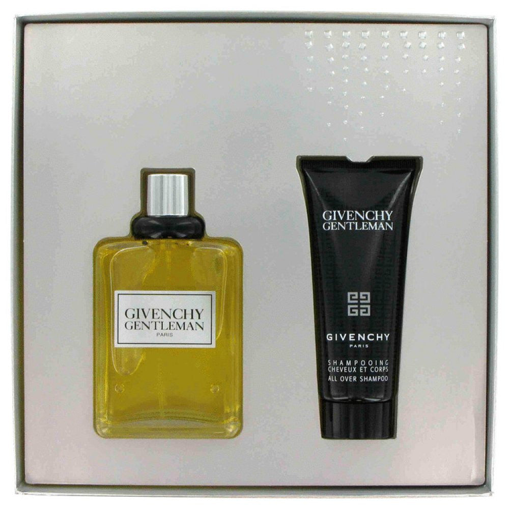 Gentleman By Givenchy Gift Set -- 3.3 Oz Eau De Toilette Spray + 2.5 Oz All Over Shampoo In Gift Box