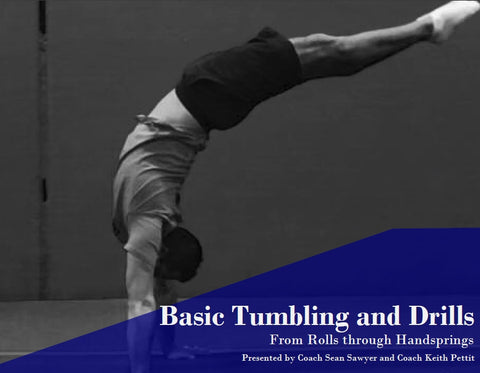 Basic Tumbling - From Rolls to Handprings