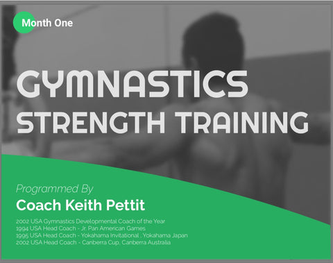 Gymnastics Strength Programming - Month #1