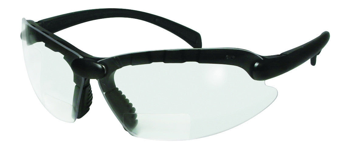 ASCC Bifocal Clear Reading Safety Glasses