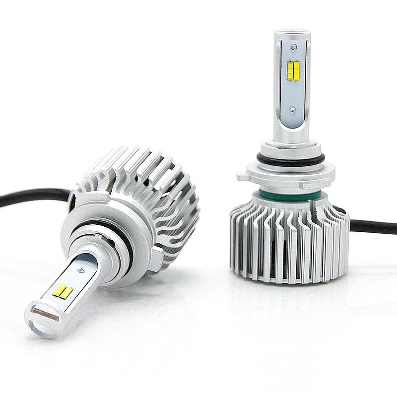 5 Pattern and Tri-Color Switch Back LED Headlight or Foglight Kit, 6000K/3000K/4500K/Strobes
