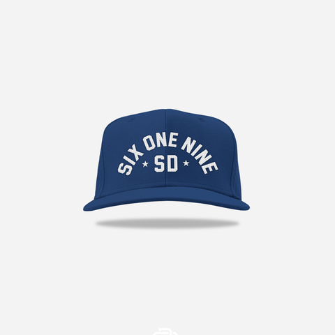 Six One Nine Snapback - Navy