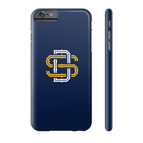 BX Logo Phone Case (Blue and Gold)
