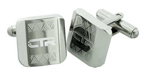 Cufflinks CTR Engraved Stainless Steel - L2