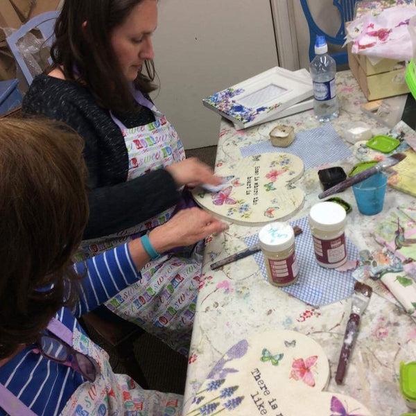 Image Transfer and Decoupage  Workshop -  Tues 11th June 2019
