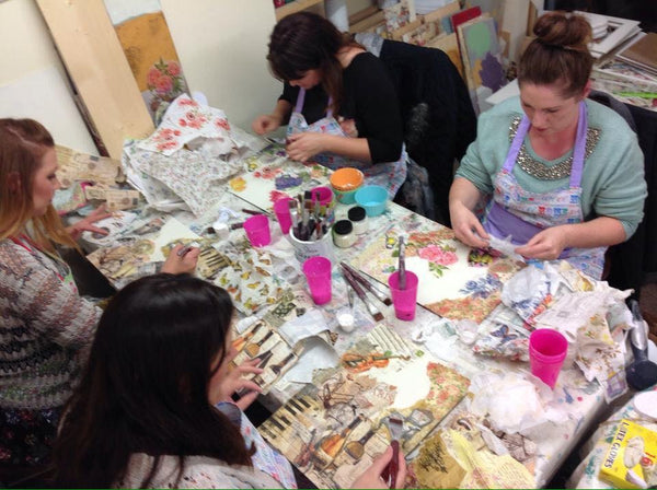 Decoupage  and Image Transfer  Workshop    - 18th October 2017