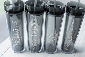 Personalized Bridesmaid Bridal Party Tumbler