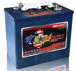 US Battery 6 Volt 280 Amp Hour Conventional Wet Cell Golf Cart Battery Part No US250HC-XC