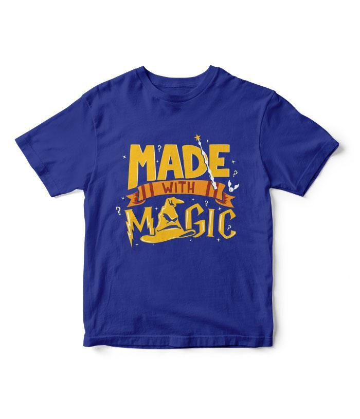 Made With Magic Kids T-Shirt - fully-filmy