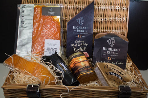 Whisky Lovers Orkney Hamper - Large - Orkney Hampers - Jollys of Orkney