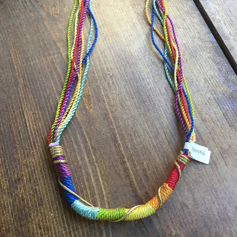 Rainbow Woven Transitional Cord