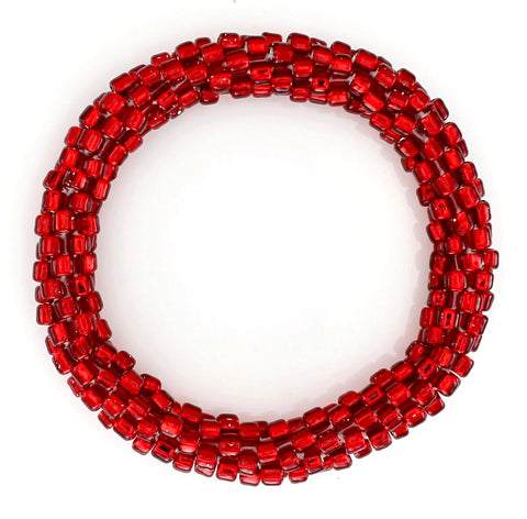 July Ruby Red Mega Bead