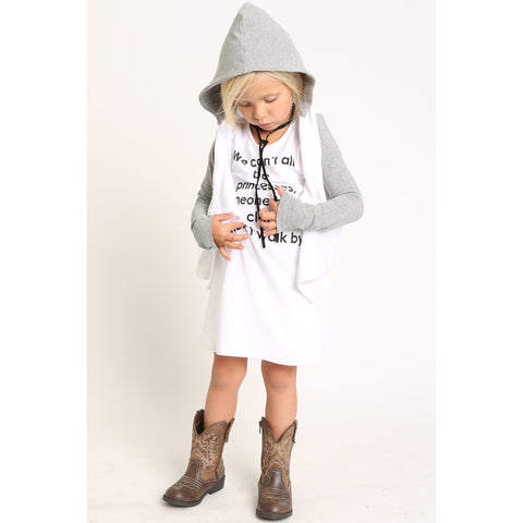 French Terry Hooded Cardigan for Girls
