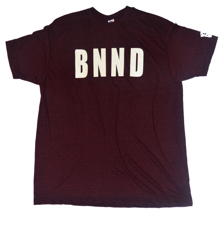 BANNED BNND T-Shirt Burgundy
