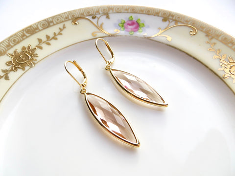 Champagne Marquise Earrings