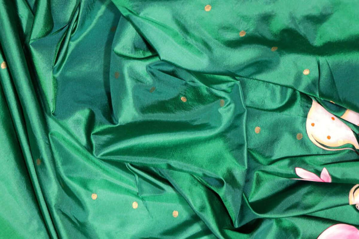Hand Painted Sarees-The Influence