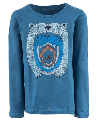 stonesandbones longsleeve Skipper FOOD CHAIN blue