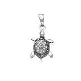 Taraash 925 Sterling Silver Lovely Turtle Pendant For Women PD2162A