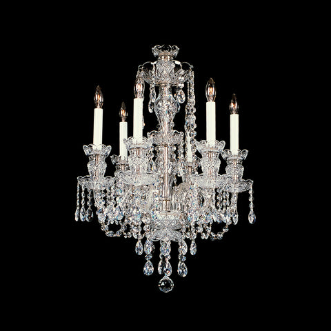 Crystal Chandelier 6-R-6 with Swarovski