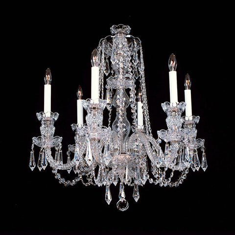 Crystal Chandelier 6-R-8 SP with Swarovski