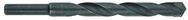 "1"" Dia. - 4 Flute Length - 6"" OAL - 1/2"" SH-CBD Tip-118° Point Angle-Black Oxide-Series 5463-Standard Masonary Drill"