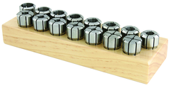 "DA100 33 Piece Collet Set - Range: 1/16"" - 9/16"" by 64th"